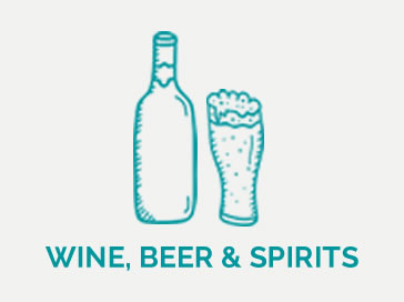Wine Beer & Spirits