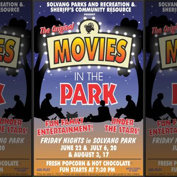 Solvang movies in the Park