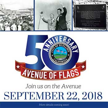 Avenue of Flags 50th Anniversary